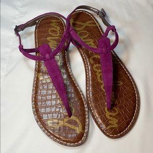 {SamEdelman}NWOT Women's Sz.10 Iconic Thong Sandal
